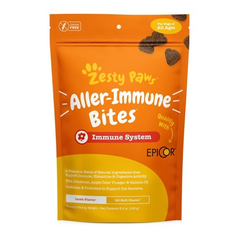Zesty Paws Allergy Immune Vitamins & Supplements for Dogs – 60 ct - image 1 of 4