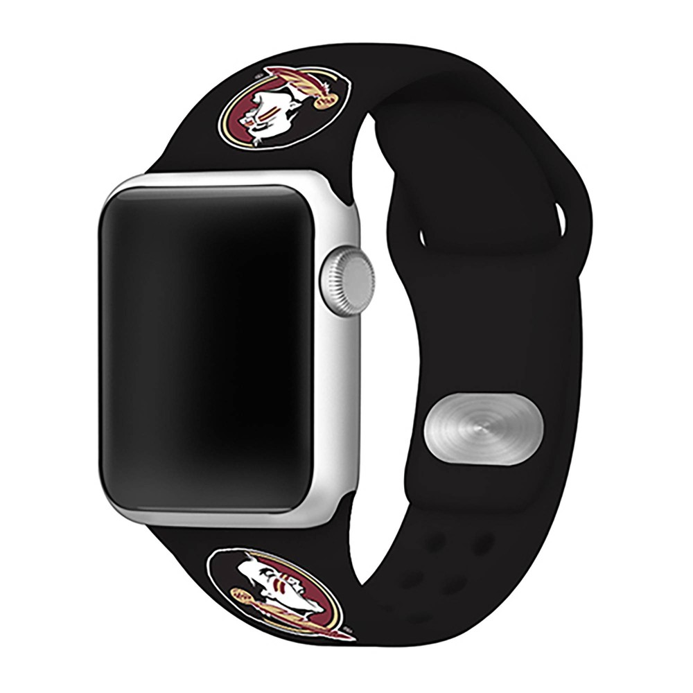 Ncaa Florida State Seminoles Silicone Apple Watch Band 38mm