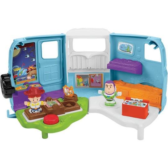 Fisher-Price Little People Toy Story 4 RV de Jessie Campground Adventure
