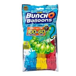 Zuru Bunch O Balloons 100 Self-Sealing Water Balloons - Red/Yellow/Blue