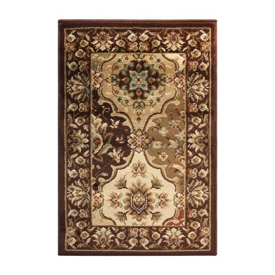 Traditional Ornamental Indoor Area Rug or Runner - Blue Nile Mills
