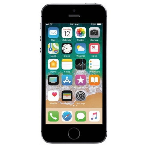 Apple iPhone Pre-Owned SE GSM Phone - image 1 of 4