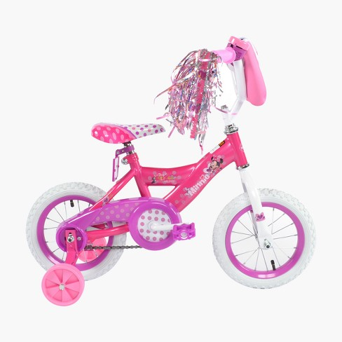 Huffy Disney Minnie Mouse 12 Kids Bike Pink