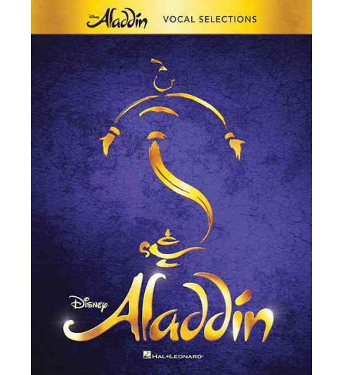 Aladdin : Broadway Musical: Vocal Selections (Paperback) - image 1 of 1