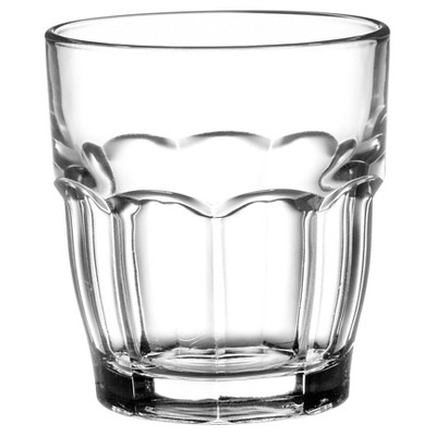Bormioli Rocco Rock Bar Stackable 7oz Juice Glass - Set of 6