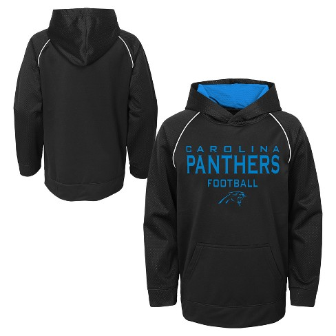 8b30b44e NFL Carolina Panthers Boys' In the Game Poly Embossed Hoodie