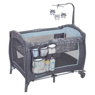 Baby Trend Trend-E Nursery Center Playard - Starlight Blue