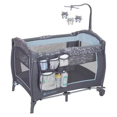 Baby Trend Trend-E Nursery Center Playard - Starlight Blue