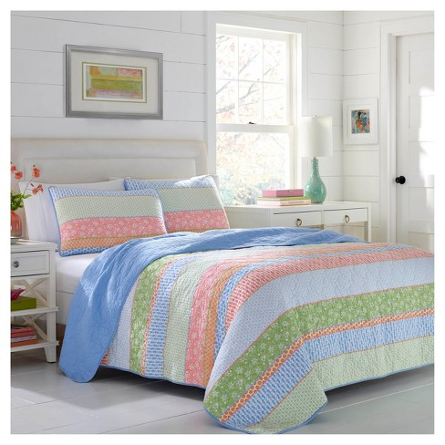 Blue Charlie Quilt Set - Poppy & Fritz® - image 1 of 2