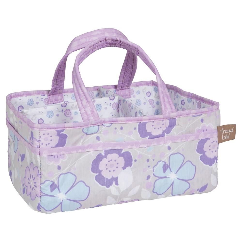 Trend Lab Diaper Caddy - Grace - Lavender Floral