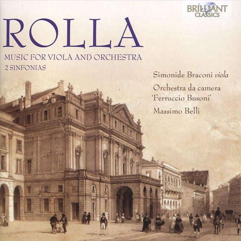 Simonide braconi - Rolla:Music for viola and ensemble (CD) - image 1 of 1