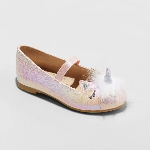 Toddler Girls' Lura Ballet Flats - Cat & Jack™ Pink - image 1 of 3