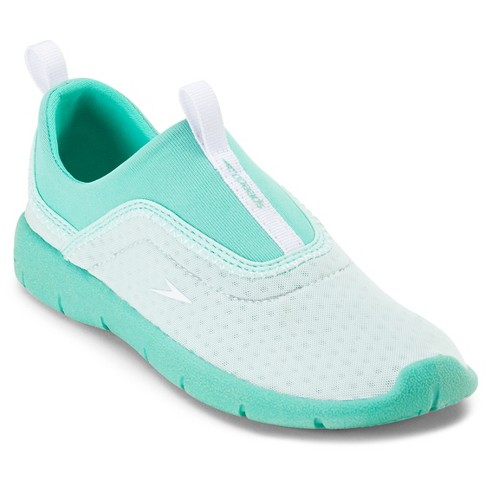 0b885906216 Speedo Junior Kids Aquaskimmer Water Shoes - Aqua (Large)   Target