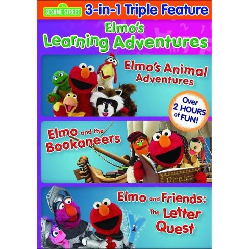 3813a94eab Sesame Street: Elmo's Learning Adventures (dvd_video) : Target