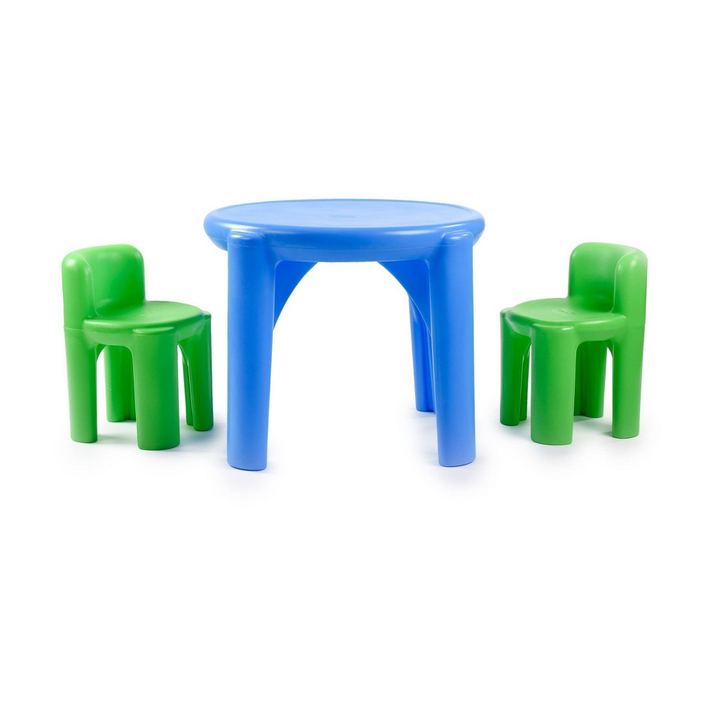 Little Tikes Bright N Bold Table & Chairs, Multi-Colored