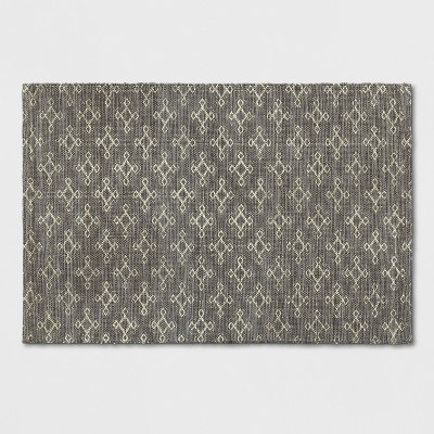 Gold Geometric Woven Accent Rug 2'6 X4'/30 X48  - Project 62™