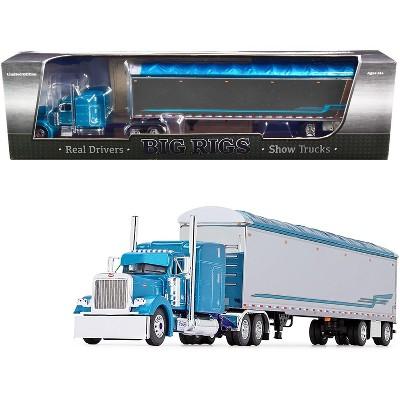 "Peterbilt 379 w/ 53' Walking Floor Trailer ""Pyskaty Bros. Trucking #34"" ""Ice Road Truckers"" (2007) TV Series ""Big Rigs"" 1/64 Diecast by DCP/First Gear"