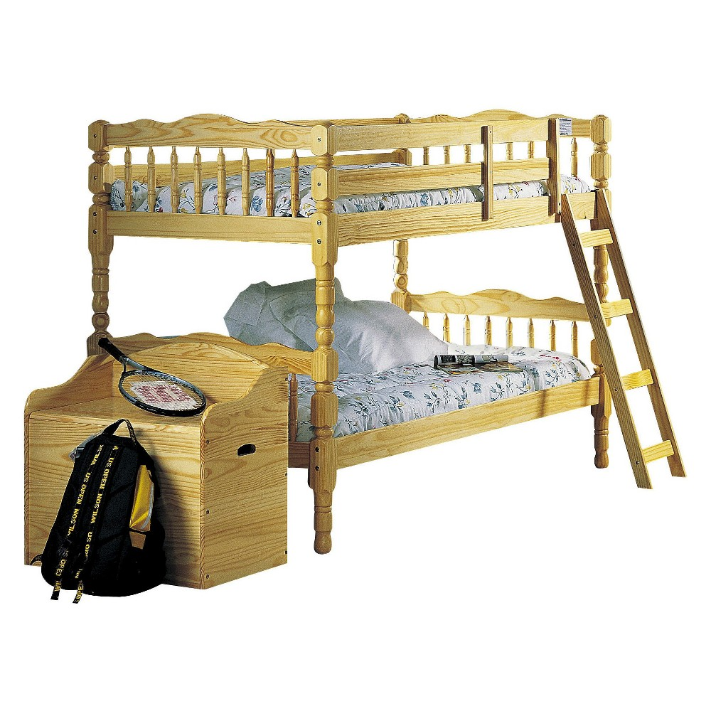 Homestead Kids Bunk Bed - Natural(Twin/Twin) - Acme