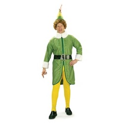Adult Buddy Elf Halloween Costume