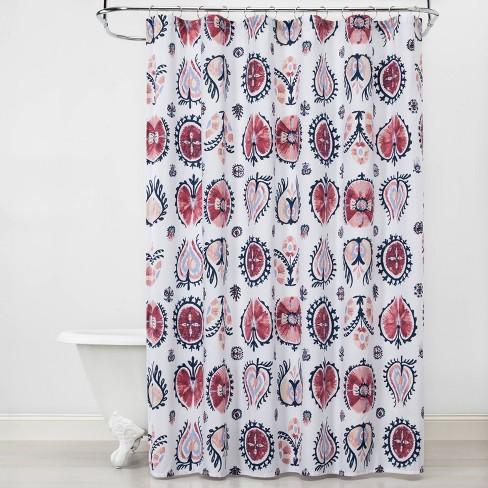 Suzani Shower Curtain - Opalhouse™ - image 1 of 3
