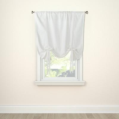 Curtain Panel Tie Up Honeycomb White - Threshold™