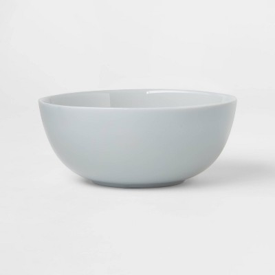 16oz Glass Bowl Gray - Made By Design™