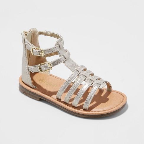 ddfcaf14b1e Toddler Girls  Taylor Gladiator Sandals - Cat   Jack™ Gold 5   Target