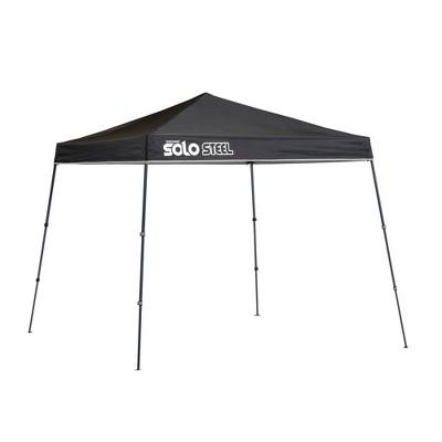 Quik Shade Solo Steel 9x9 Slant Leg Canopy - Black