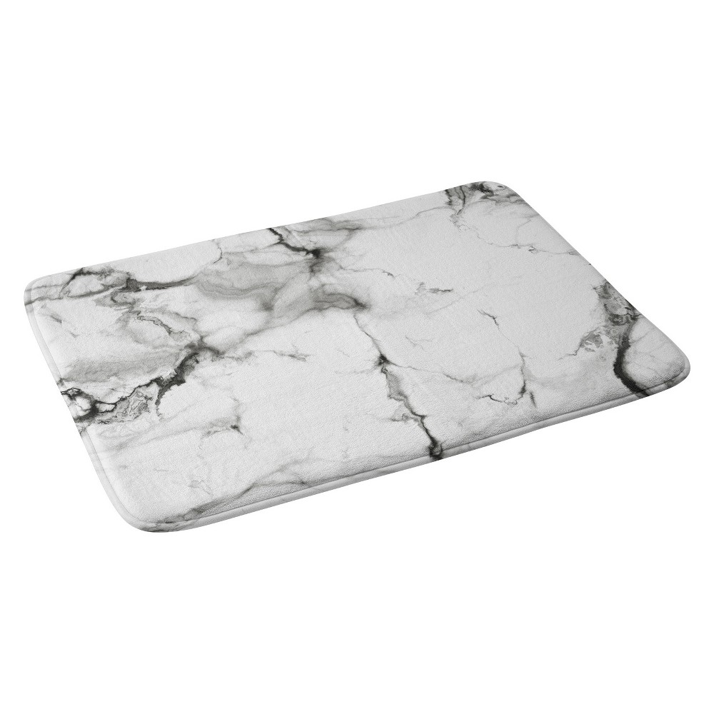 Chelsea Victoria Bath Rugs And Mats Black and White 24