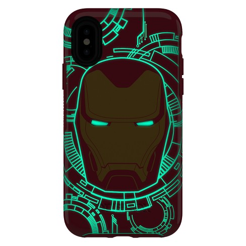 iron man iphone xs case