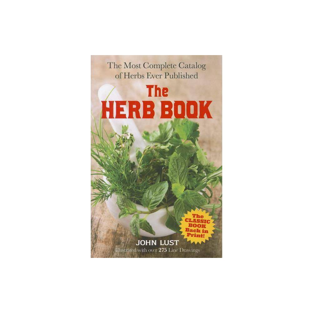 The Herb Book Dover Cookbooks By John Lust Paperback