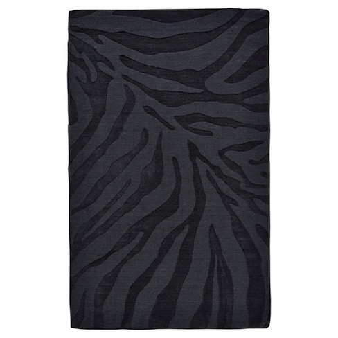 Abstract Tufted Accent Rug Midnight - Weave & Wander - image 1 of 3