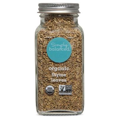 Organic Thyme Leaves - .9oz - Simply Balanced™