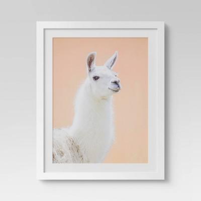"26"" x 32"" Llama Framed Wall Art - Project 62™"