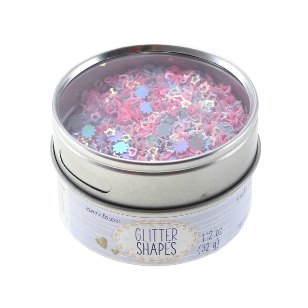 Image of Heart, Star, & Flower Glitter 1.12oz - Sulyn
