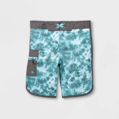 Boys' Tie-Dye Swim Trunks - art class™