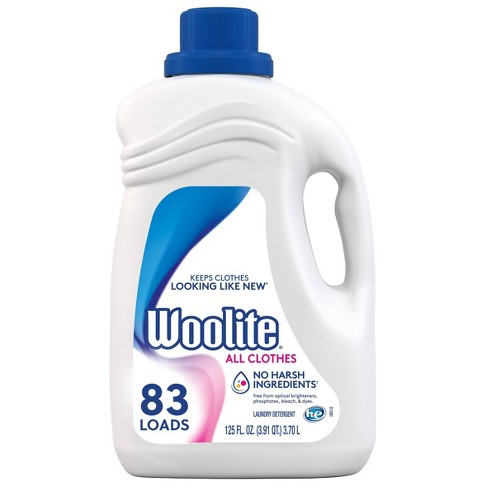 Woolite High Efficiency Laundry Detergent - 125 fl oz - image 1 of 4