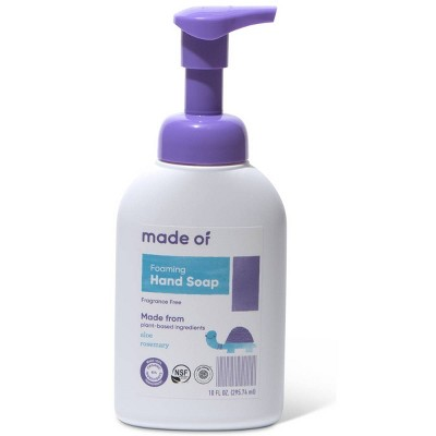 MADE OF Organic Hand Soap Fragrance Free - 10oz