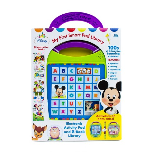 Disney Baby My First Smart Pad Story Reader and 8-book Boxed Set - image 1 of 10