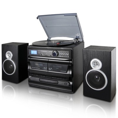 Trexonic 3-Speed Vinyl Turntable Home Stereo System