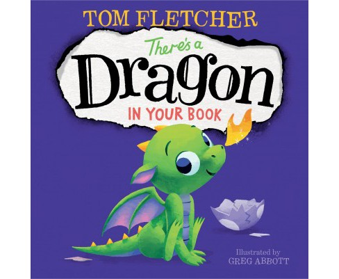 There's a Dragon in Your Book by Tom Fletcher - image 1 of 1