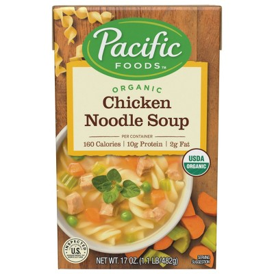 Pacific Foods Organic Chicken Noodle Soup - 17oz