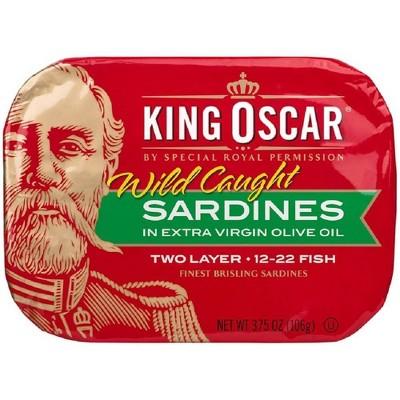 King Oscar Sardines in Olive Oil - 3.75oz