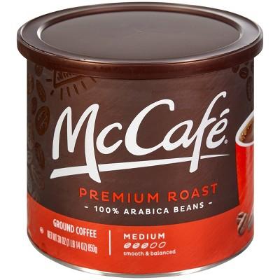McCafe Premium Roast Ground Coffee - Medium Roast - 30oz