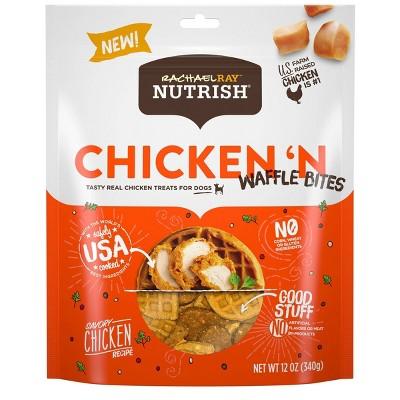 Rachael Ray Nutrish Dog Treats Chicken & Waffles Dog Treats