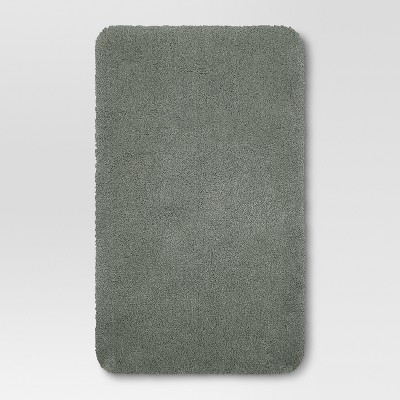 34 x20  Performance Nylon Bath Rug Dark Gray - Threshold™