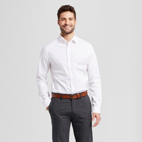 Men's Slim Fit Button-Down Dress Shirt - Goodfellow & Co™ - image 1 of 3