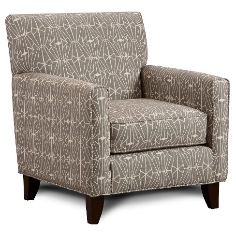 Iohomes Janey Contemporary Style Chair Crystal Pattern