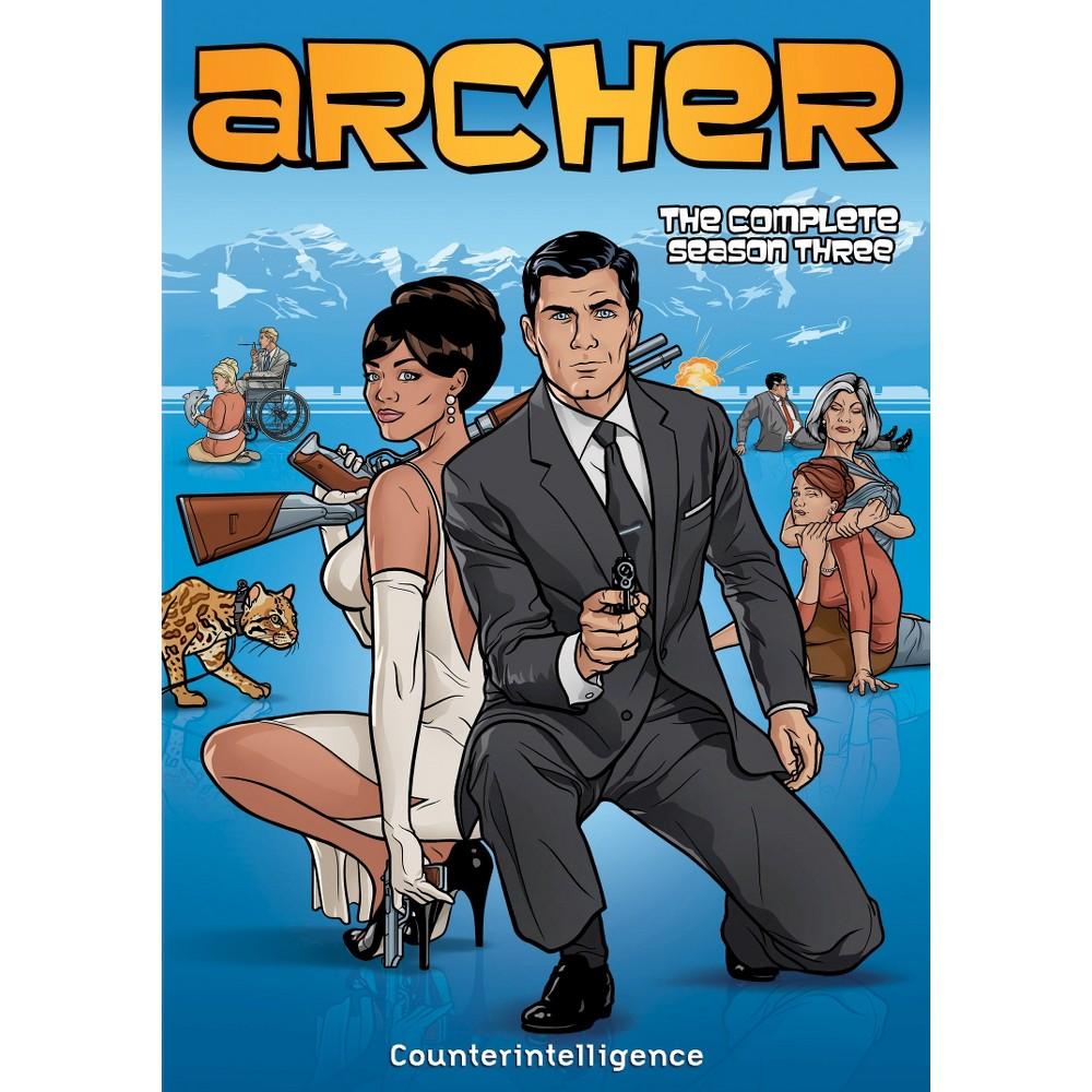 Archer The Complete Season Three Dvd