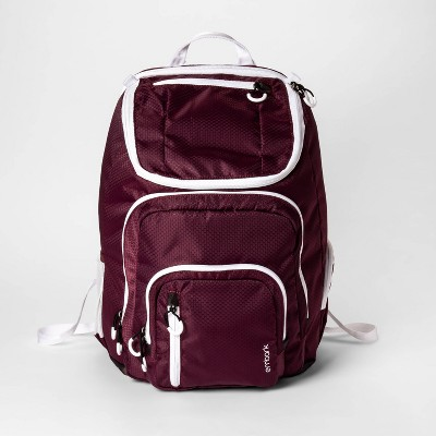 19\' Jartop Elite Backpack Burgundy/White